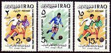 Irak Iraq 1966 ** Mi.445/47 Fußball Football