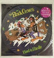 "The Black Crowes Hard To Handle Maxisingle 12"" UK 1990 fotodisco color + encarte"