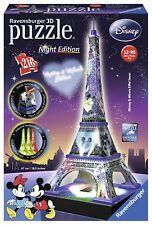 Ravensburger 12520 Puzzle 3D Building Tour Eiffel Night Edition