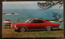 1964 Washington DC USA Picture Postcard cover Chevrolet Impala Sport Coupe
