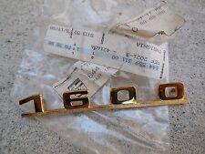 """Porsche 356 Emblem """"1600"""" ( Gold)  644 559 311 00  NEW   C#102"""