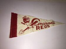 "Vintage Cincinnati Reds 8.5"" Retro 1960's Pennant"
