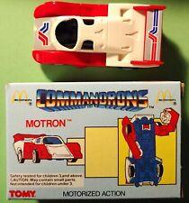 Vintage McDonalds MOTRON Commandrons 1985 TOMY - New In Original Box