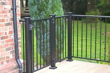 More details for high quality modular steel railing handrail for decking patios fencing all parts