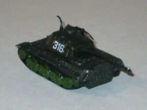 Vintage 1970s PzKpfw V Panther W.T. 316 German WWII Diecast Tank! (Hong Kong)