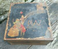 Collectable Vintage c1930's Wright's Plaza Assortment of Biscuits Tin