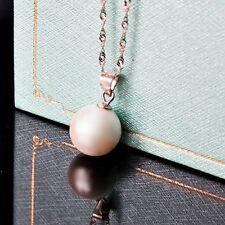 Modeschmuck-Anhänger aus Sterlingsilber mit Perlen