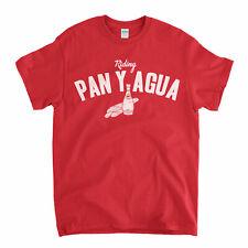 Cycling T Shirt - Pan Y Agua Bike Bicycle T Shirt Old Skool Hooligans