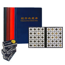 200Pcs 52mm Commemorative Coin Storage Book Collection Album Folder Holder Tools