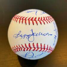1978 New York Yankees World Series Champs Team Signed Baseball With JSA COA