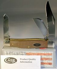 Case XX Large Stockman Jigged Earth Brown G-10 Pocket Knives NEW