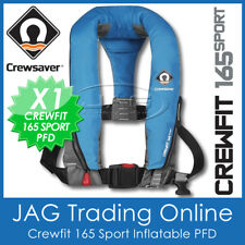CREWSAVER CREWFIT DIVA BLUE 165 SPORT PFD - MANUAL INFLATABLE LIFE JACKET 165N