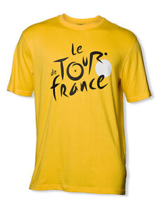 Tour de France TDF Logo T-Shirt Official Apparel (Yellow)