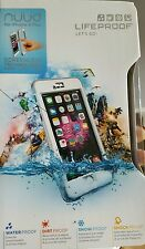 Lifeproof nuud Iphone 6 plus white and gray
