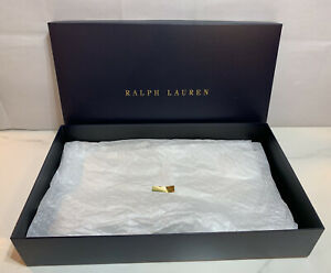 Ralph Lauren Large Empty Gift Box with Tissue Paper and Sticker