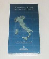 FLORA E FAUNA D'ITALIA Libro 6 Cd Rom Mammiferi Uccelli pesci Orchidee Pc NUOVO