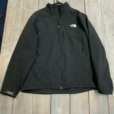 The North Face mens black full zip windbreaker jacket adult size L large