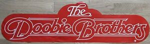 The Doobie Brothers Promotional Poster Display Art 1980 One Step Closer Logo