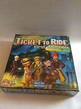 New/sealed Alan R Moon Ticket To Ride First Journey Board Game
