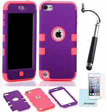 Hybrid Shockproof 3 in 1 Case Cover For Apple iPod Touch 5th & 6th Generation