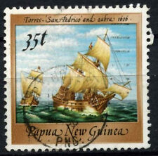 Papua New Guinea 1987-8 SG#550, 35t Ship Definitives Used #D44855