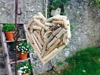 LARGE HANDCRAFTED DRIFTWOOD HEART.  GORGEOUS
