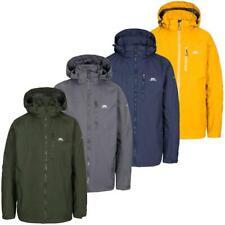 Men's Trespass Hamrand 3000mm Waterproof Breathable Rain Jacket with Taped Seams
