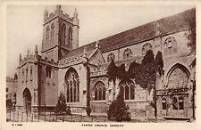 R169630 Parish Church. Dursley. Kingsway Real Photo Series