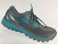 Brooks Ghost 10 Grey Blue Athletic Running Shoes Women's US Size 9.5 B