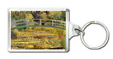 CLAUDE MONET - WATER LILY POND 1899 KEYRING LLAVERO
