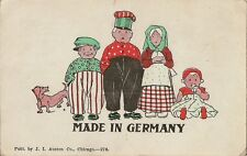 CARTE POSTALE POST CARD USA FANTAISIE MADE IN GERMANY CHICAGO