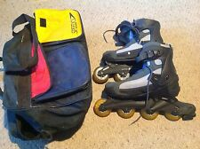 Used But in good condition Ultra Wheels Inline Skates and carry bag. Men's 11