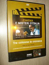 DVD TRE COLONNE IN CRONACA CINEMA E MISTERI D'ITALIA CARLO VANZINA VOLONTE'