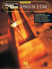 E-z Play Today 198-Chansons en 3/4 temps facile Clavier Valse Valse Music Book EZ