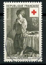 STAMP / TIMBRE FRANCE OBLITERE CROIX ROUGE  N° 1089 JEUNE PAYSAN