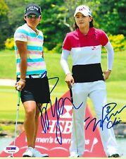Yani Tseng / Na Yeon Choi LPGA Signed 8x10 Photo PSA/DNA - Great Autos!