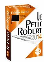 Petit Robert 2014 - Dictionnaire - édition limitée + carnet d'écriture