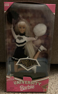 Purdue University Cheerleader Barbie Doll 1996 Special Edition