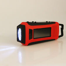 New Digital Emergency FM/AM/NOAA Weather Radio Hand Crank Radios LED Flashlight