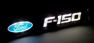 1Pcs JDM FORD F150 LED Light Car Front Grille Badge Illuminated Decal Sticker