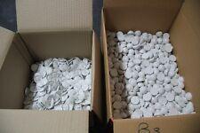 Lot de 1000 badges blancs avec clous blancs pour Portique Anti-vol (lot B3)