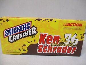 Action 2001 Ken Schrader M&Ms Snickers Cruncher Bar 1/24