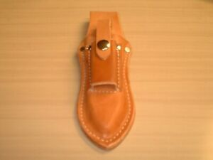 """Leather Pliers Pouch Holds 6-8"""" Pliers, 4-6"""" Adj Wrench, 5WR Vise Grips etc MW30"""