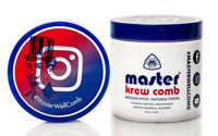 Master Krew Comb Hair Styling Cream Medium Hold Natural Finish 16oz.