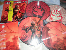 IRON MAIDEN NEW 2 LP THE BEAST TAKES TOKYO PDK 250 PICTURE DISC EDDIE OBI GREAT