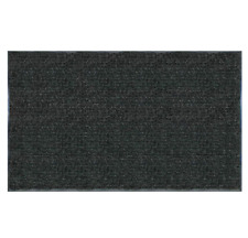 TrafficMaster Enviroback Charcoal 60 x 36 in. Recycled Rubber Door Mat - Black