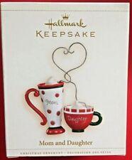 Hallmark 2006 Mom and Daughter - Cup - Mug Christmas Ornament Free Shipping