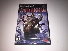 The Red Star PlayStation 2 PS2 BRAND NEW FACTORY SEALED VERY RARE