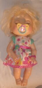 2012 SPANISH ENGLISH BABY ALIVE DOLL IN GOOD WORKING CONDITION HEAD MOVES