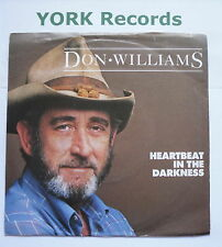 "DON WILLIAMS - Heartbeat In The Darkness - Ex Con 7"" Single Capitol CL 412"